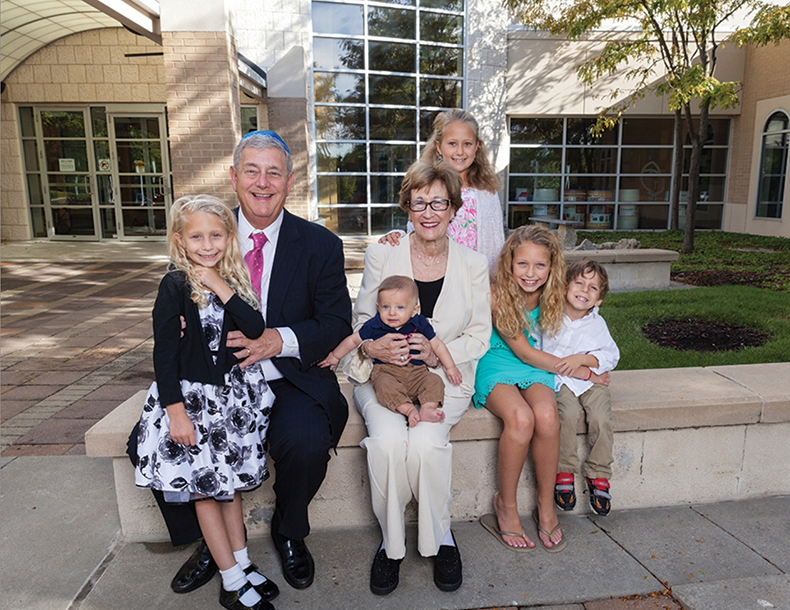 """""""On February 2, 2019, we'll be married 50 years and we've been members ever since. It's all about family for us—our children, grandchildren and our congregational family. These are the ties that bind us to the Jewish Community. Our contribution is for our children's and grandchildren's future. Gail grew up in Mankato, Minnesota and her parents drove an hour and a half every Sunday so that she could attend religious school at her congregation. From generation to generation, we hope to continue this legacy."""""""