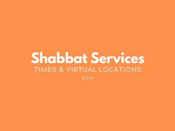 1 Shabbat Svcs