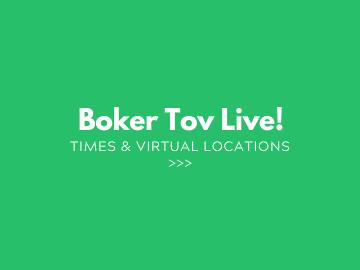 3 Boker Tov Live