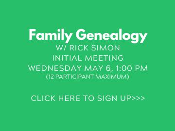 Genealogy Tile NEW