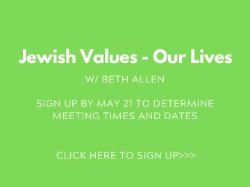 small group_Jewish Values