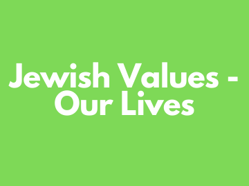 jewish values small group