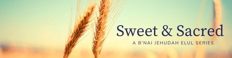 Sweet & Sacred Elul 2021 Header